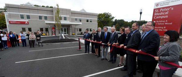 St. Peter's Health Partners held a ceremony Tuesday to celebrate the opening of its newest project, the St. Peter's Medical Campus in Clifton Park. The Times Union was in attendance to report on the important milestone.