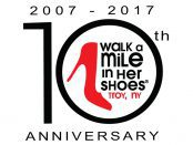 "The Sexual Assault and Crime Victims Assistance Program at Samaritan Hospital will host the 10th annual ""Walk a Mile in Her Shoes"" from 11 a.m. to 1 p.m. on Saturday, April 29, at Riverfront Park in Troy."