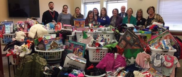 For this year's holiday season, St. Peter's Health Partners Medical Associates staff and providers collected toys, clothing, and other items for those in need.