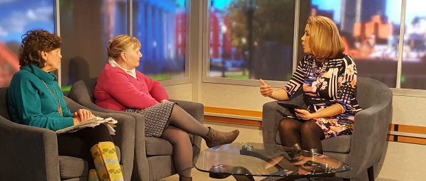 Anne Lawton, RN, community liaison for St. Peter's Hospital Cancer Care Center, appeared on Spectrum News LIVE at Noon to discuss how a structured program like The Butt Stops Here can help smokers stay on the path to quitting.