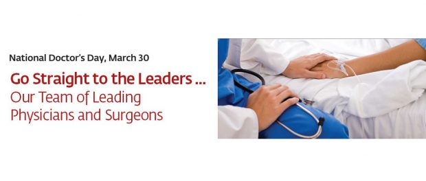 St. Peter's Health Partners Celebrates National Doctor's Day on March 30