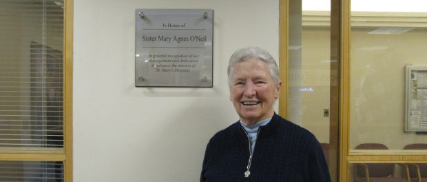 An accomplished and impassioned leader, Sister Mary Agnes O'Neil made an indelible impact on St. Mary's Hospital and the City of Troy.
