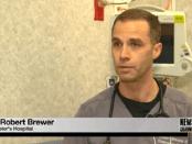 Dr. Robert Brewer from St. Peter's Hospital