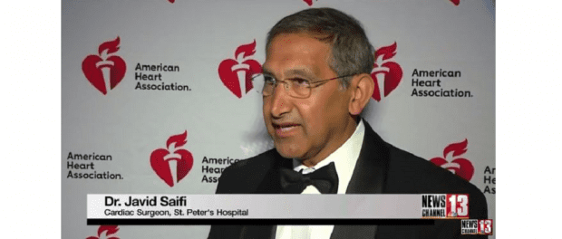 Dr. Javid Saifi on WNYT