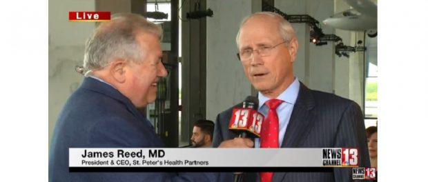 Dr. James Reed on WNYT