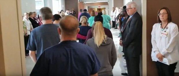 Samaritan Hospital Honor Walk